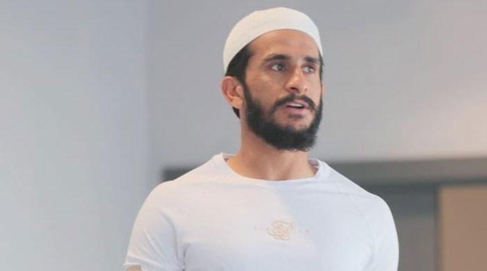 Hasan Ali sends Eid greetings to his fans