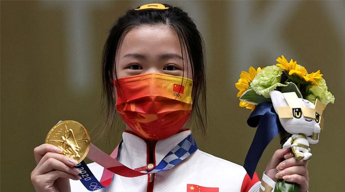 Tokyo Olympics: Chinese shooter Yang Qian wins first gold
