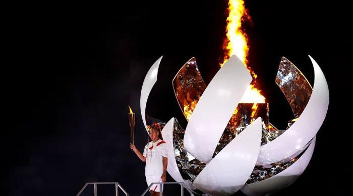 Naomi Osaka says lighting Olympic cauldron was the 'greatest honour' of her life