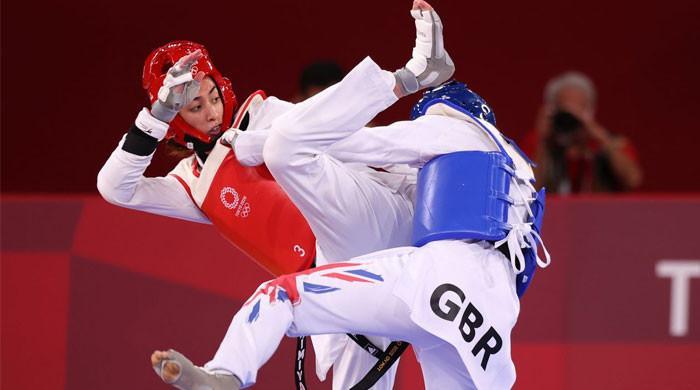 Refugee athlete Kimia Alizadeh ends Jade Jones' bid for British history in taekwondo