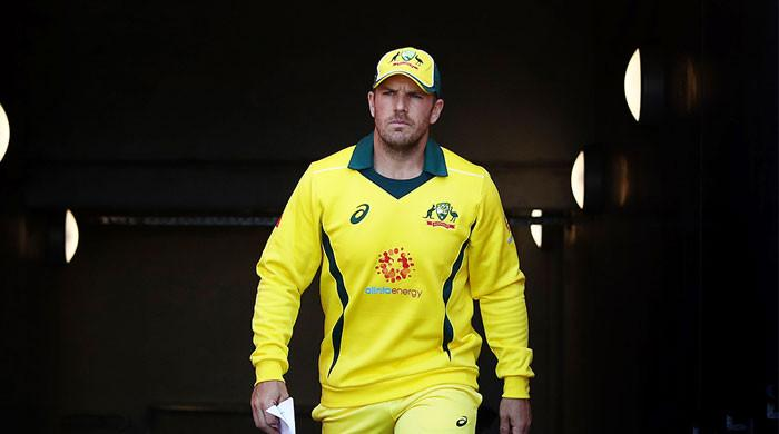 Aaron Finch ruled out of remainder of Australia's tours as he faces knee surgery