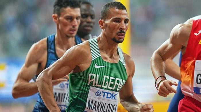 Algerian runner Taoufik Makhloufi pulls out from Tokyo 2020 Olympic Games