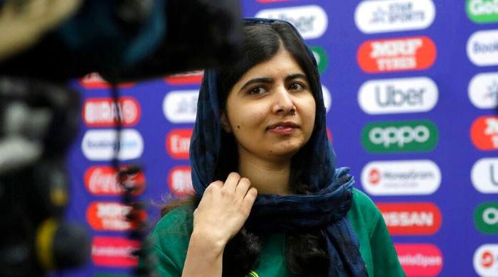 Malala has a message of support for all girls wanting to play sports: 'Give it a try!'