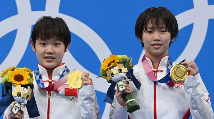 Chinese teens claim Olympic gold in women's synchronised 10m platform