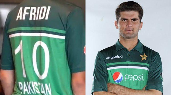 Shaheen Shah Afridi to don Shahid Afridi's number 10 jersey now onwards