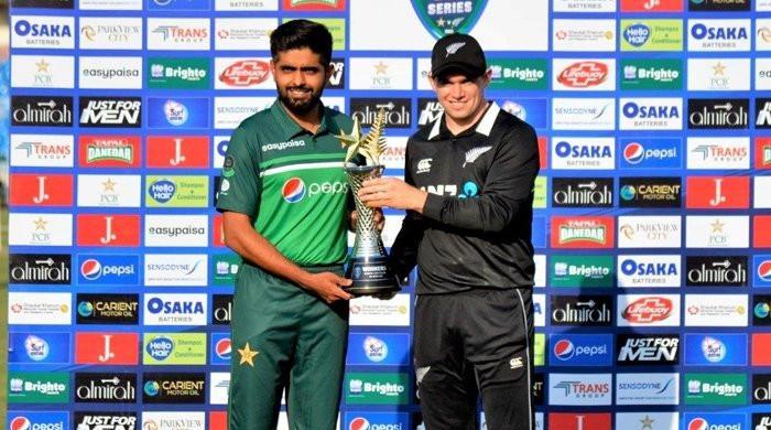 Pak vs NZ ODI series trophy revealed