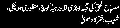 Shoib Akhtar Statement About Misbah ul haq
