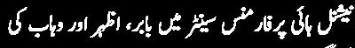 national high performance center main babar azhar wahan ki tranning