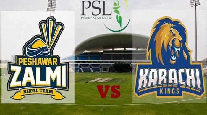 Karachi Kings take on Peshawar Zalmi in HBL PSL today
