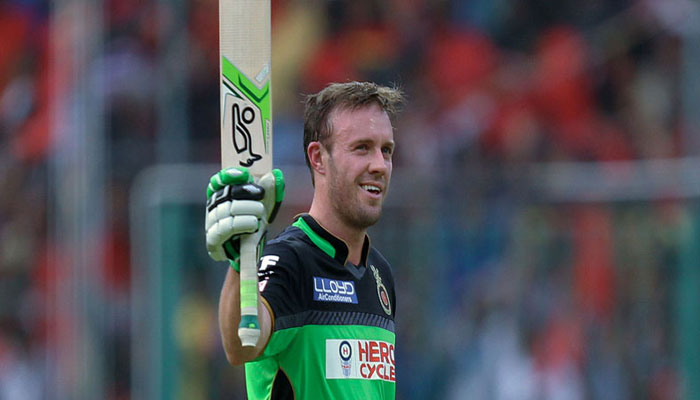 Ab De Villiers No Longer Part Of Psl 4 Owing To Injury Geo Tv