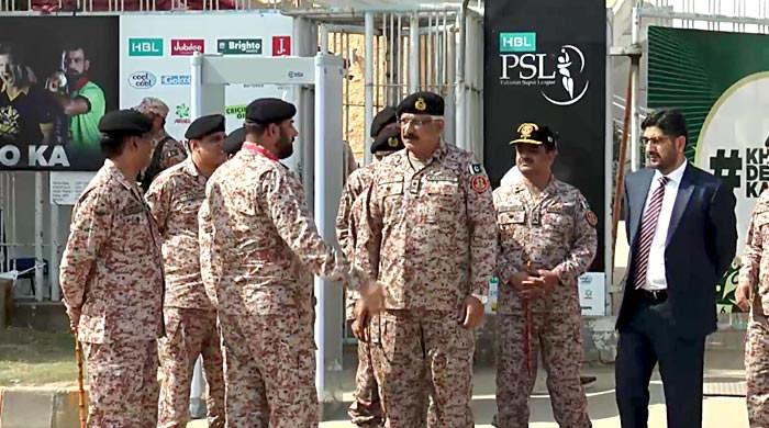DG Rangers reviews security measures at National Stadium Karachi
