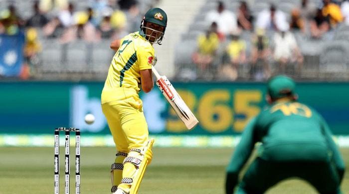 Finch misses record hundred as Australia post 266-6