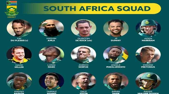 Amla named in South African World Cup squad