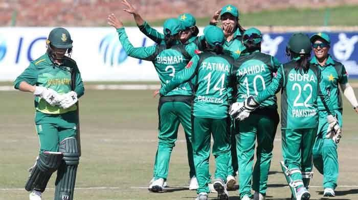 Pakistan women secure first-ever win in South Africa