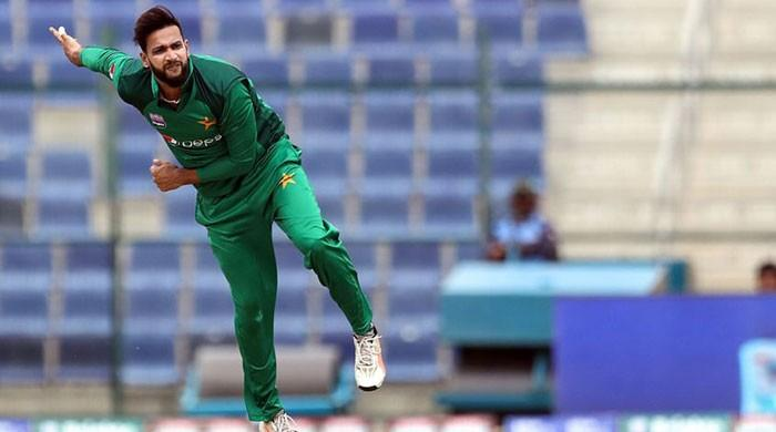 Imad Wasim of Pakistan moves to 2nd position in ICC T20I rankings