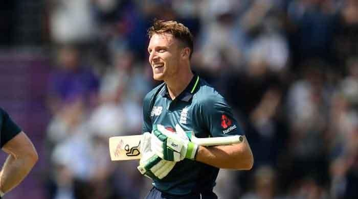 Watch: Jos Buttler hits incredible 100 off 50 balls against Pakistan
