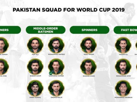 Wahab Riaz, Asif Ali, Amir recalled in Pakistan World Cup squad