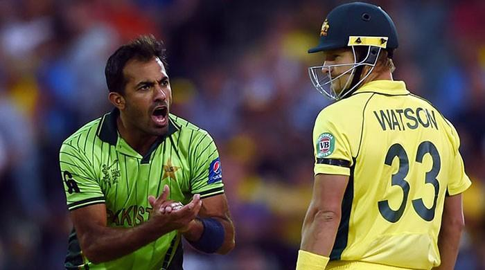 World Cup throwback: Relive Wahab Riaz's fiery spell against Australia in 2015