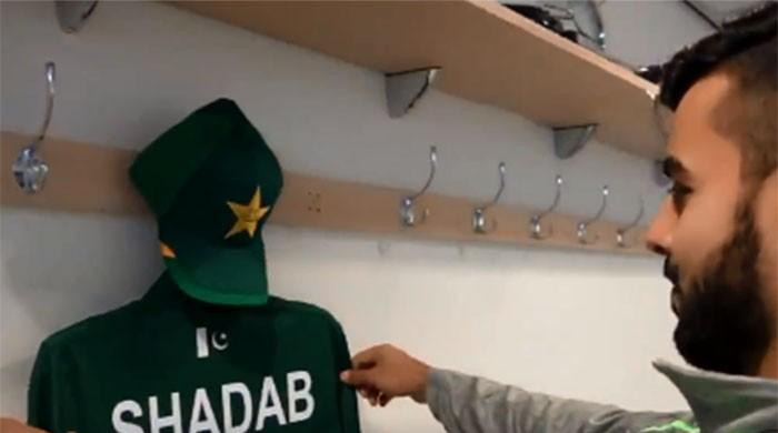 Shadab Khan shares his emotions on representing Pakistan in World Cup