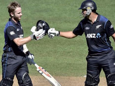 Taylor, Williamson steer New Zealand to win over India