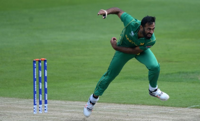 Image result for wahab riaz world cup 2019