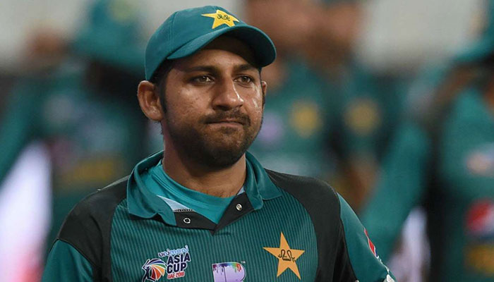 Pakistani Lawyer Files Suit, Seeking Arrest For Sarfaraz Ahmed