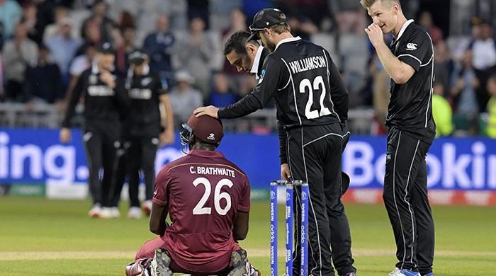 Brathwaite ton in vain as New Zealand win Windies thriller