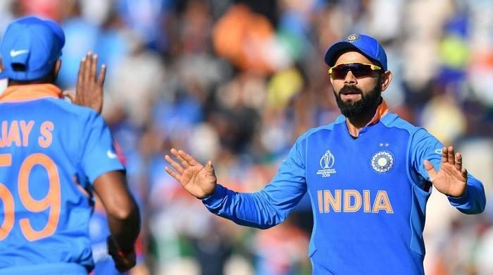 Kohli fined for 'excessive appealing' against Afghanistan