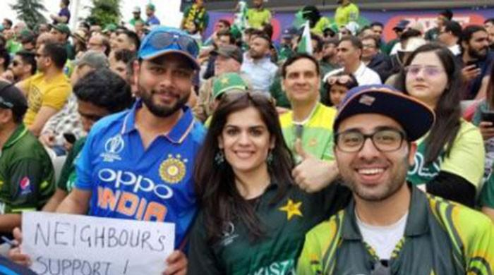 Pakistanis react to an Indian fan's kind gesture at Lord's