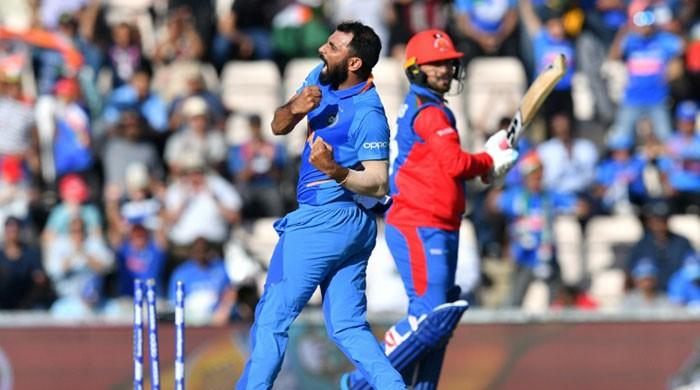 Shami World Cup hat-trick is reward after Indian bowler´s struggles