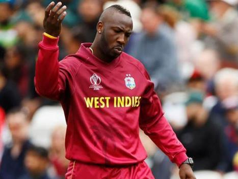 West Indies replace injured Russell with Ambris