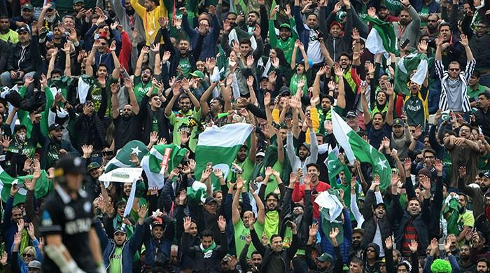 Dhol, bhangra and fireworks: How the fans celebrated Pakistan's remarkable victory