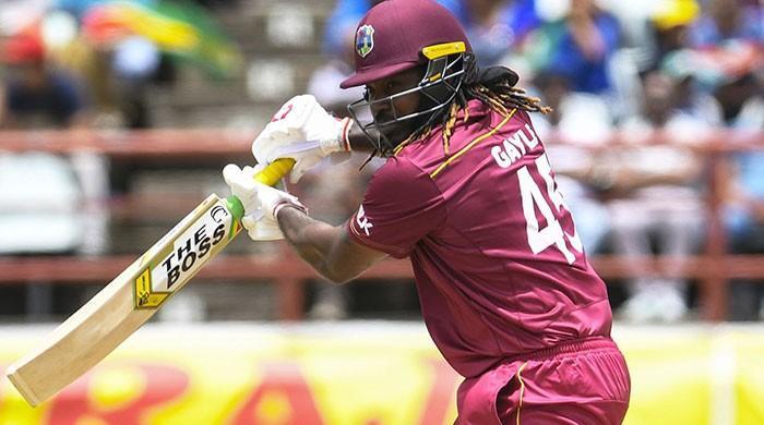 Rain plays spoilsport as Gayle misses history bid against India