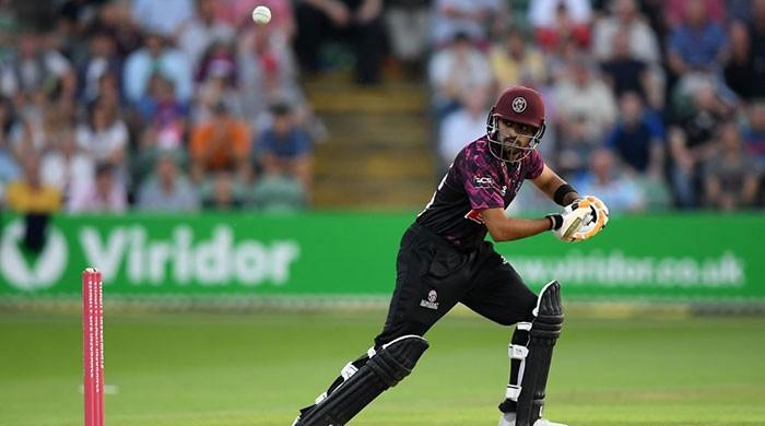 This Babar Azam sixer for Somerset will make you weak at the knees