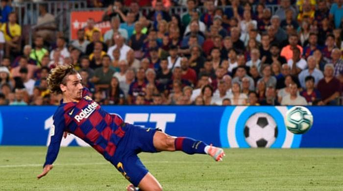 I tried to copy Messi and LeBron, says Griezmann after Barca double