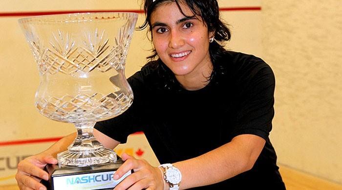 Maria Toorpakai downs Madina Zafar in international squash