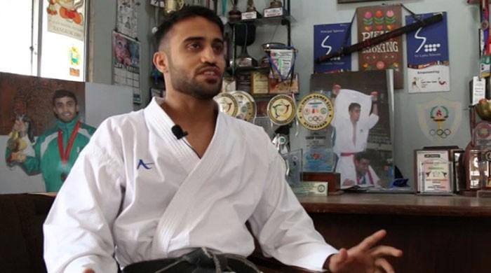 Karateka Saadi Abbas secures at least 140 ranking points, improves Olympic rankings