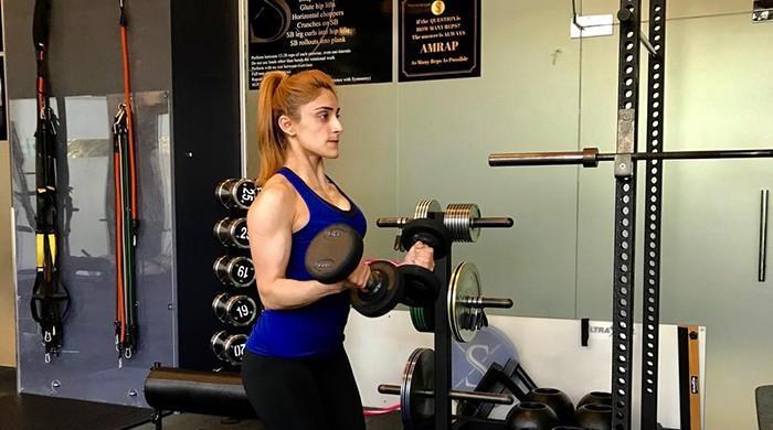Footballer Zulfia Nazeer wins gold medal in power-lifting