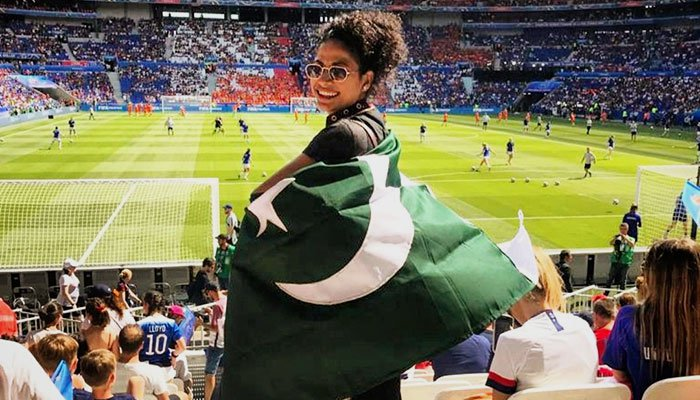 Image result for hajra khan pakistan football