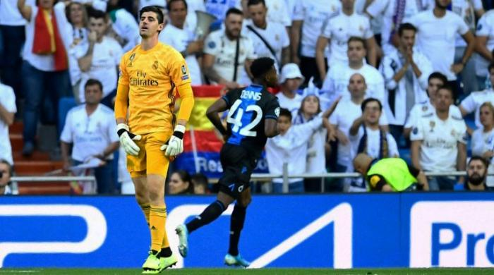 Zidane says Courtois not alone in blame as Real deny anxiety issues