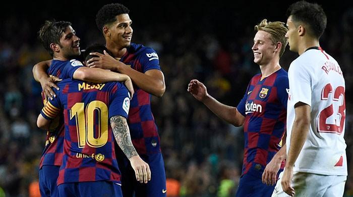 Barcelona back in form after finishing Sevilla
