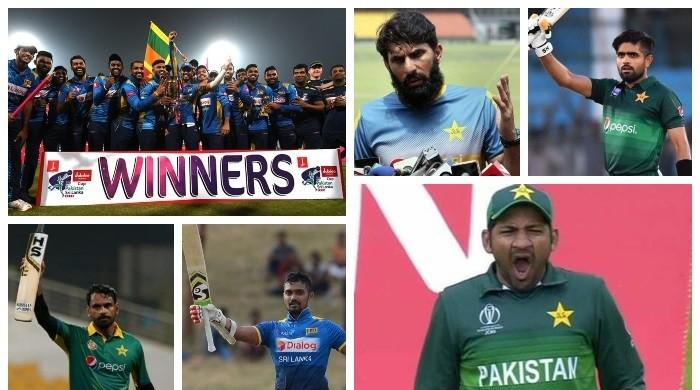 Heroes and Zeroes from Pakistan's home series against Sri Lanka