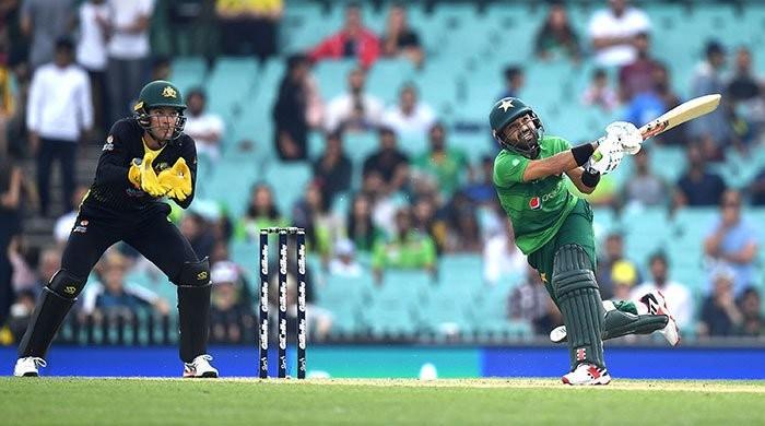 Pakistan vs Australia: first T20I abandoned as rain rescues Babar Azam's men