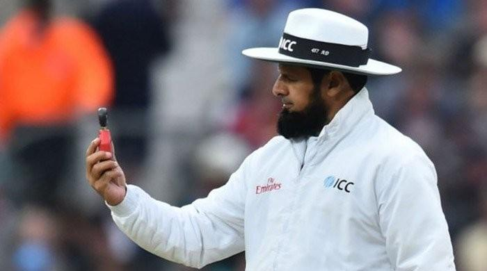 Aleem Dar on brink of claiming record for most Tests as umpire