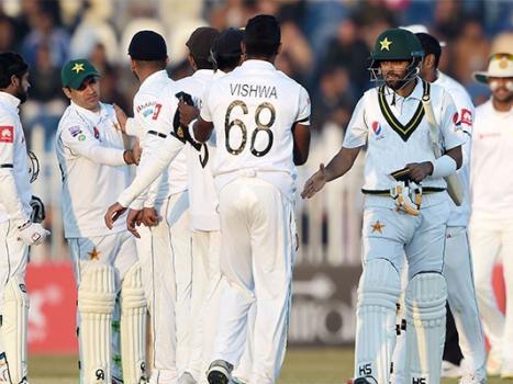 Abid Ali scores maiden century as Pakistan v Sri Lanka ends in a draw