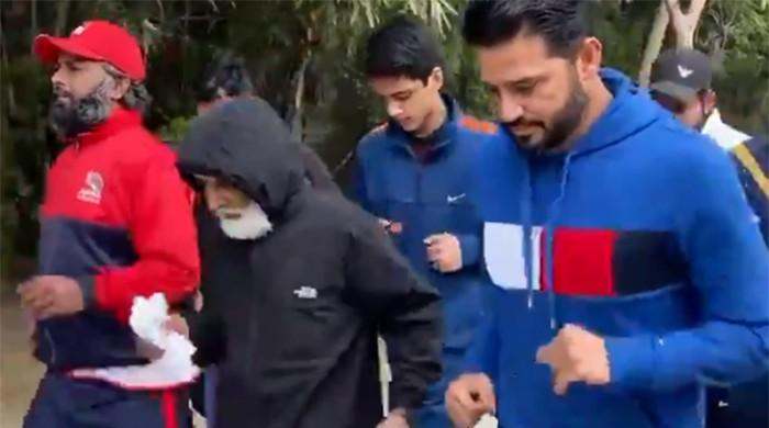 Azhar Ali's 75-year-old dad is probably fitter than the son