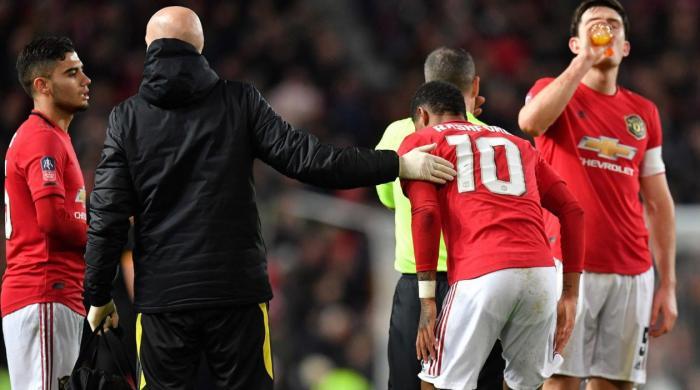 Man Utd rocked as Rashford ruled out for at least six weeks