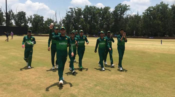 Pakistan U-19 team defeat Zimbabwe to qualify for World Cup quarter finals
