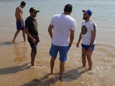 PSL 2020: Smiles and sunshine as Karachi Kings visit Nathiagali Beach