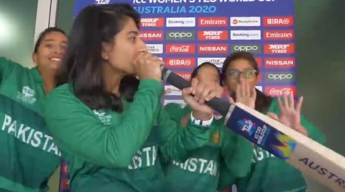 Video: Pakistani women cricketers teach you how to beatbox with a bat